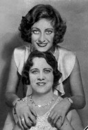 Joan and Mom, 1930.