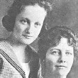 Joan and mother during Joan's St. Agnes Academy years, circa 1918.