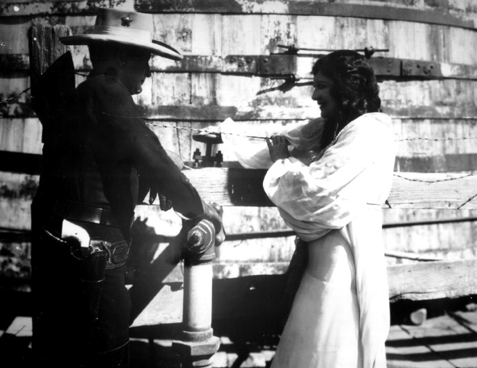 1928. 'Law of the Range.' With Tim McCoy.