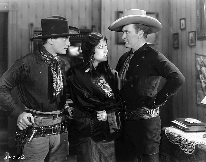 1928. 'Law of the Range.' With Rex Lease and Tim McCoy.