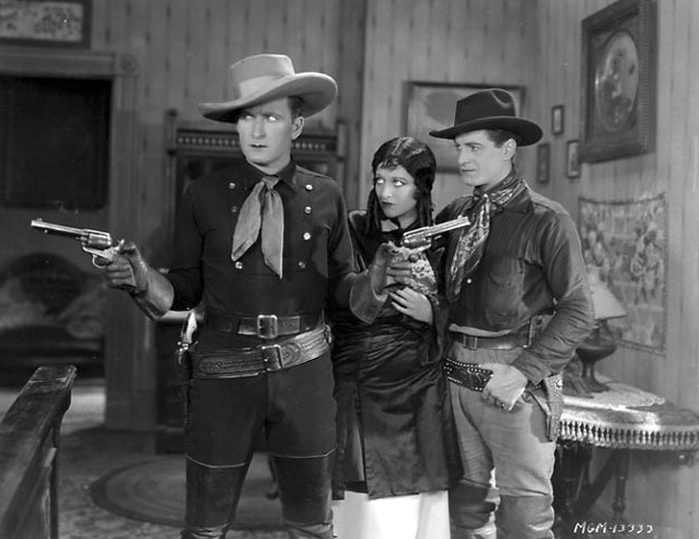 1928. 'Law of the Range.' With Tim McCoy and Rex Lease.