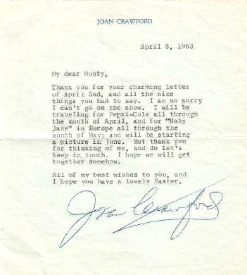 April 8, 1963, to producer Monty Morgan.