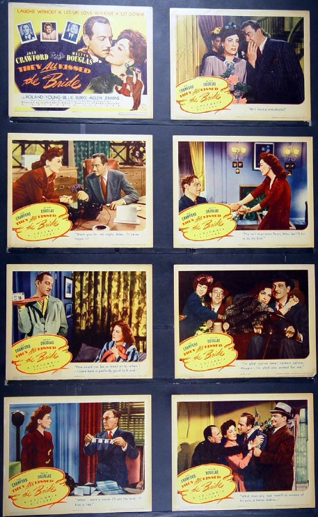 Complete set of US lobby cards.