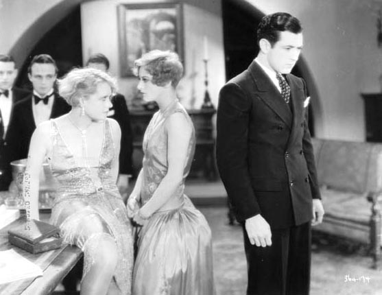 1928, 'Our Dancing Daughters,' with Anita Page and Johnny Mack Brown.
