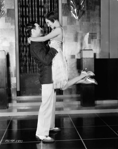 1928. 'Our Dancing Daughters,' with Johnny Mack Brown.