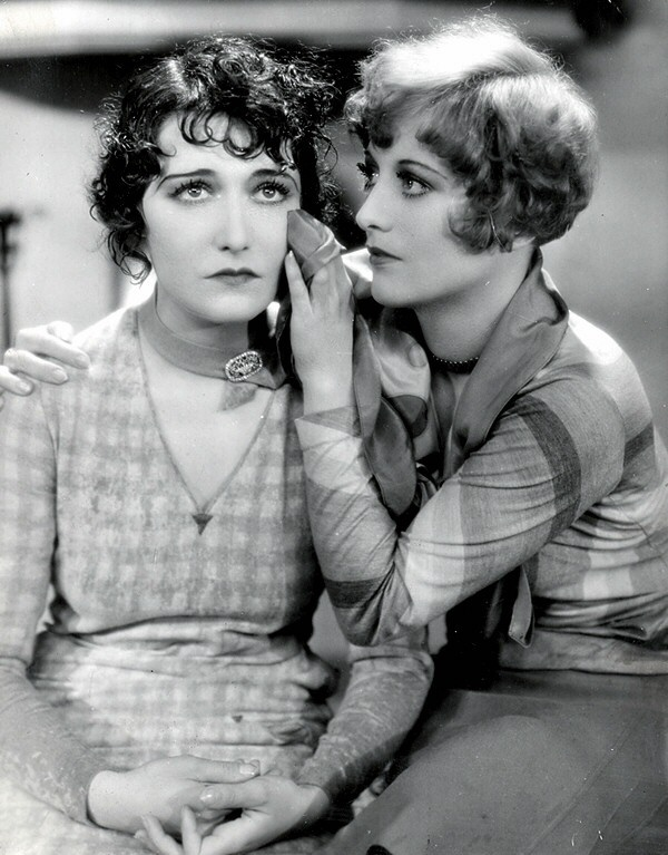 1928. 'Our Dancing Daughters,' with Dorothy Sebastian.