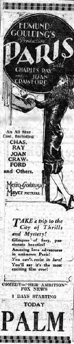 Newspaper ad.
