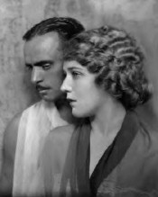 Mary Pickford with husband Douglas Fairbanks, Sr.