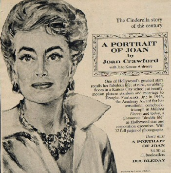 Doubleday ad for 'Portrait.' Click to see larger version.