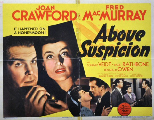 1943. 'Above Suspicion' lobby card (US).