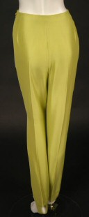 A pair of '60s Pucci pants, in chartreuse silk.