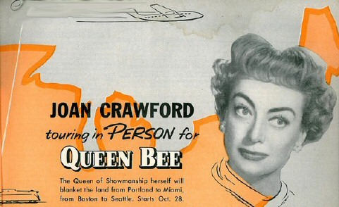 US Queen Bee publicity card. (Thanks, Bay.)