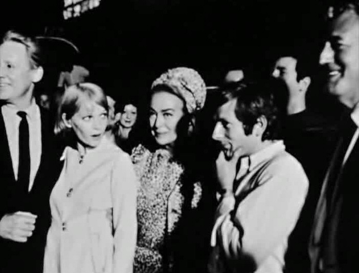 1968. On the set of 'Rosemary's Baby.' (Thanks to Susanne.)