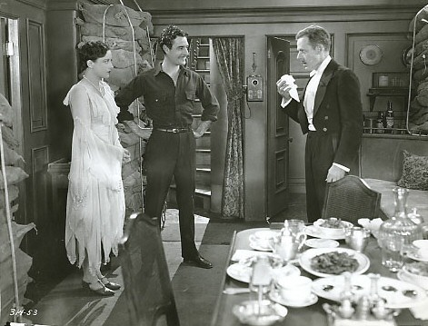 With John Gilbert, left, and Edward Earle.