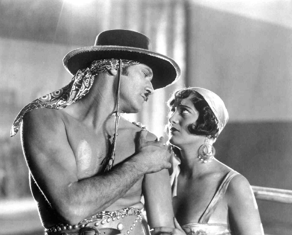 Joan Crawford and Norman Kerry in The Unknown (1927)