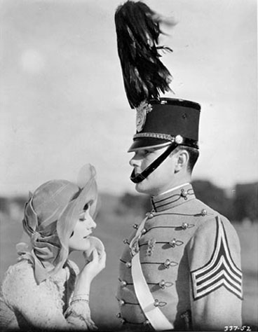 1928, 'West Point,' with William Haines.