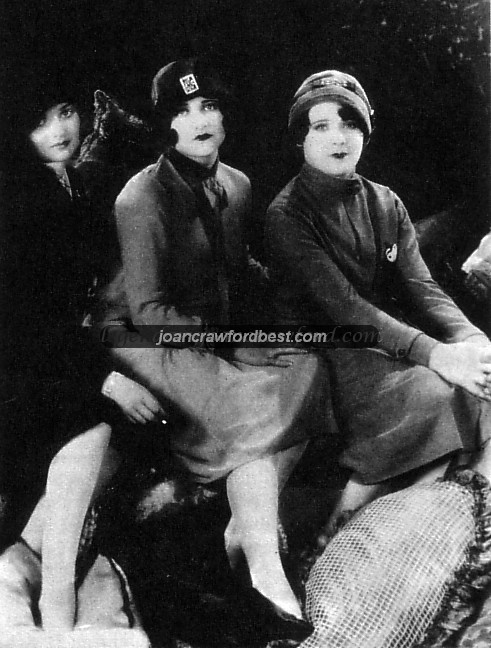 With Constance Bennett, left, and Sally O'Neil.
