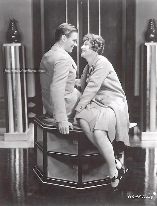 1929. 'Our Modern Maidens' publicity, with Doug Fairbanks, Jr.