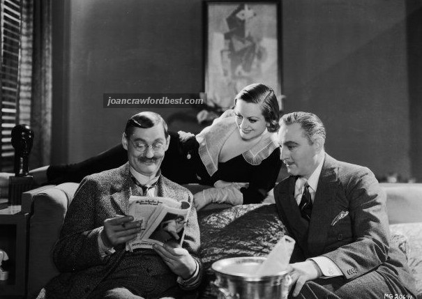 With Lionel and John Barrymore.