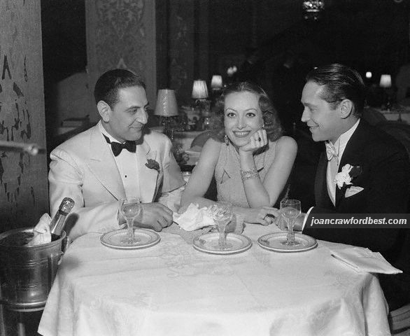 Dec. 1933 with Guy Lombardo and Franchot Tone.