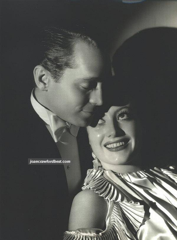 1933. With Franchot Tone. Shot by Hurrell.