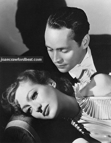 1933. Joan with Franchot Tone, shot by Hurrell.
