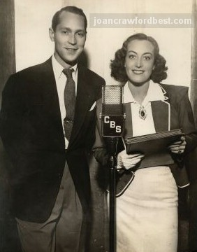 1936. With husband Franchot Tone.