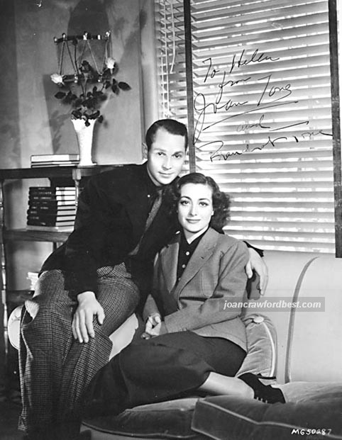 1936, at home with husband Franchot Tone.