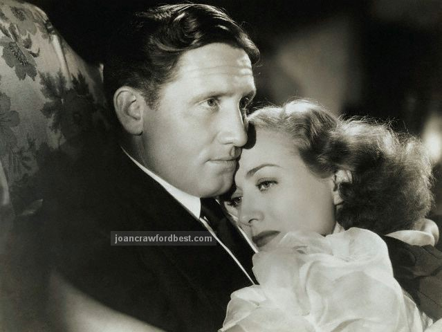 With Spencer Tracy.