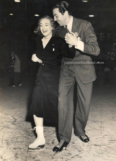 October 1938, with Cesar Romero.