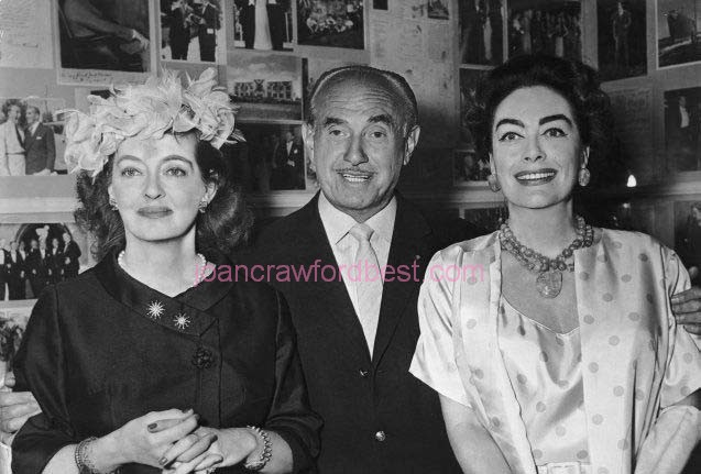 Bette Davis, Jack Warner, Joan.