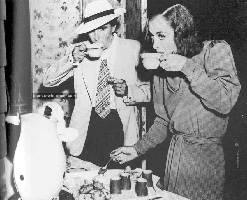 1937. With 'Bride' director Dorothy Arzner.