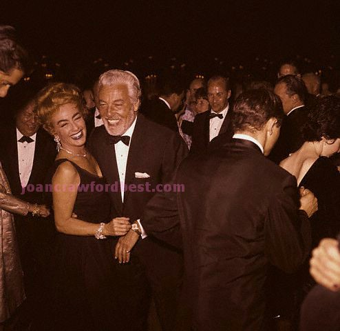 April 9, 1962, with Cesar Romero at the Oscars.