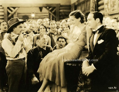 1930. 'Montana Moon.' With Ricardo Cortez (to right).