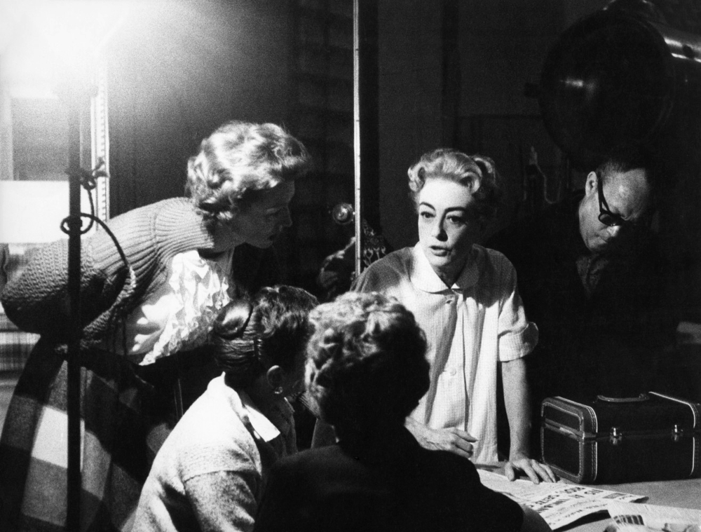 1959. On the set of 'The Best of Everything.' Shot by Eve Arnold.
