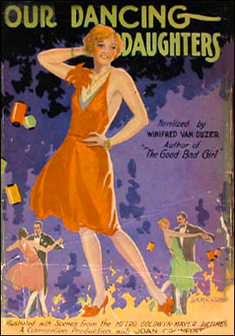 1928 'Our Dancing Daughters' hardcover.